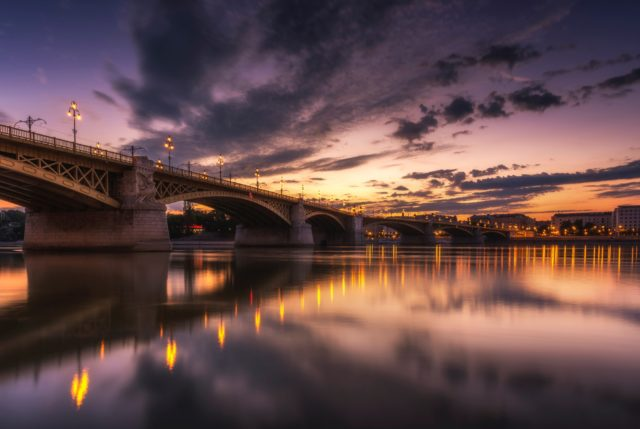 The Romance of Budapest by night